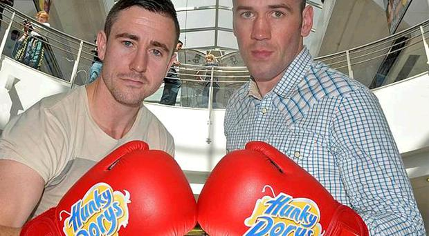Paul McCloskey and Barry Morrison will clash in Letterkenny on October 2