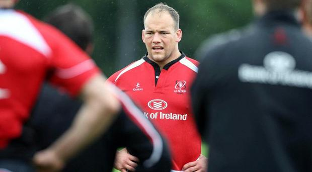 Ulster's BJ Botha will be one of the South Africans on show for Ireland's first match at the Aviva Stadium