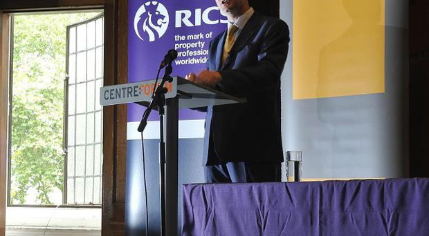 Deputy Prime Minister Nick Clegg delivers a speech on social reform at the RICS in Westminster