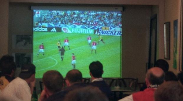 World Cup boosted the number of hours people spent watching television, according to research