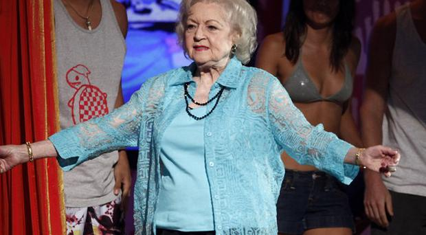 Betty White has signed a book deal
