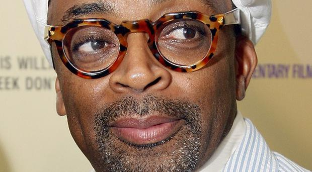 Spike Lee screened portions of his new film