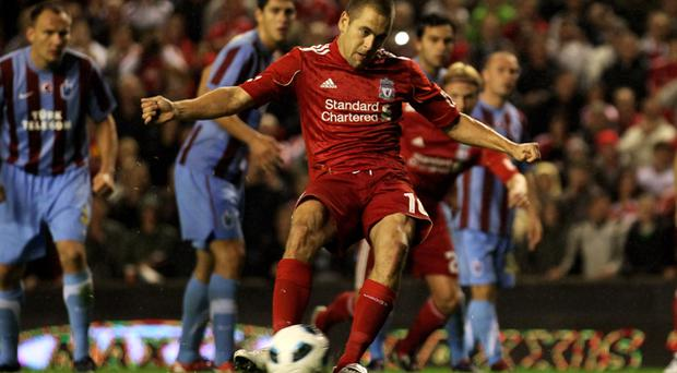 Liverpool 1 Trabzonspor 0, Anfield, 19 August 2010
