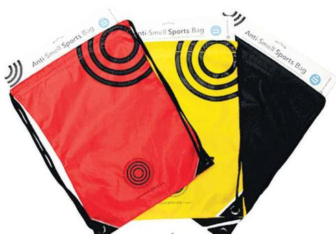 <b>Anti-Smell Sports Bag </b><br/> Sounds too good to be true but it has patent pending. It works like a shoe odour eater with a carbon filter sewn into the lining that lasts for a year. Choose from red, yellow or black. <br/> <b>Where</b> 020 -7012 1715; www.concentrate.org.uk <br/> <b>How much</b> £7.95