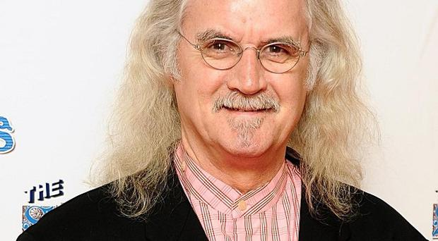 Billy Connolly will be honoured by his home city