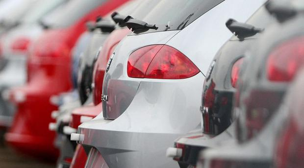 The number of new cars registered this year has risen to almost 70,000