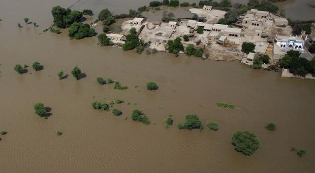 Pakistan thanked the world for opening its wallets in response to the flooding tragedy