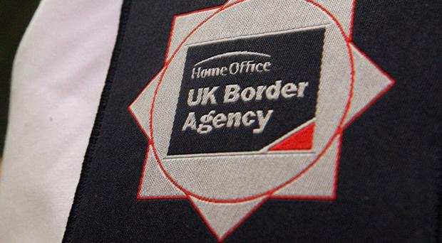 UK Border Agency officials have arrested two men in Co Londonderry as part of an illegal immigration probe