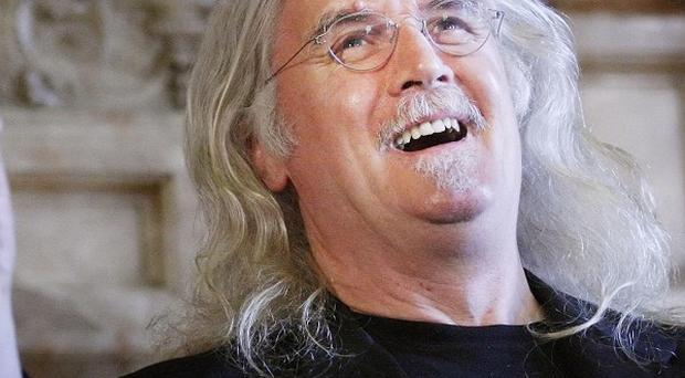 Billy Connolly was thrilled about being honoured by his home city