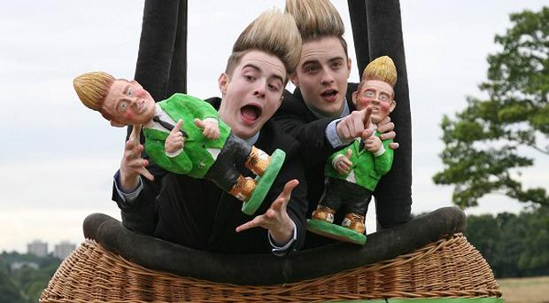 Edward Grimes reckons Dannii Minogue wanted to call her baby Jedward