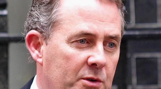 Defence Secretary Liam Fox has called for the latest version of video game Medal of Honor to be banned
