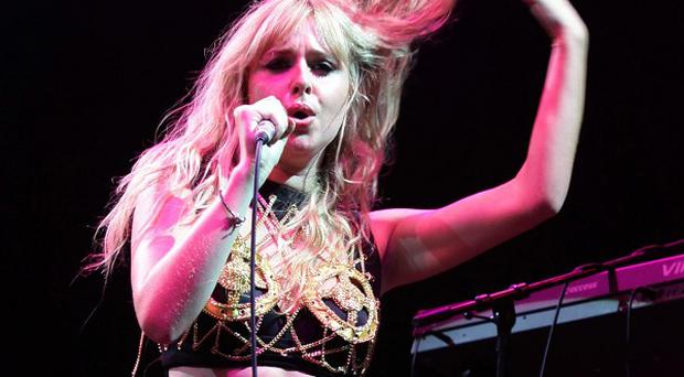Diana Vickers performing at the Nissan Juke Arena, during the V Festival at Hylands Park in Chelmsford, Essex