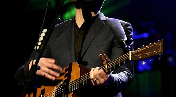 David Gray who is one of the new artists have been added to the star studded line-up to mark Arthur's Day