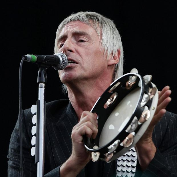 Paul Weller performing during the V Festival at Hylands Park.