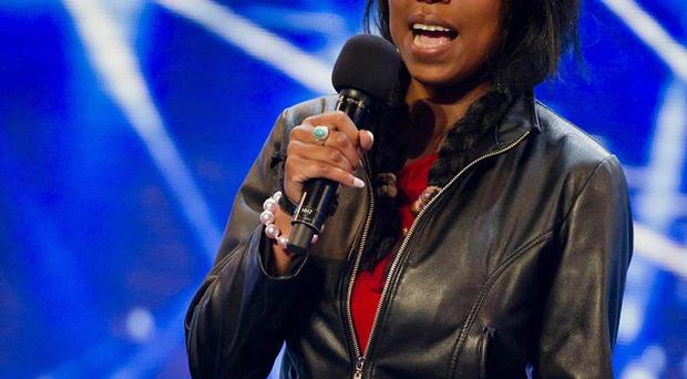 X Factor hoepful Shirlena has been thrown out of the Miss Great Britain contest