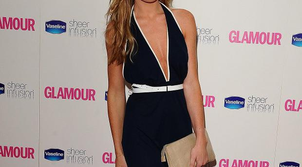 Abbey Clancy appeared back on This Morning for a fashion feature