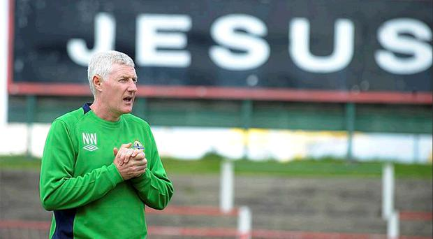 Northern Ireland manager Nigel Worthington will certainly be praying that his side's goal drought comes to an abrupt end