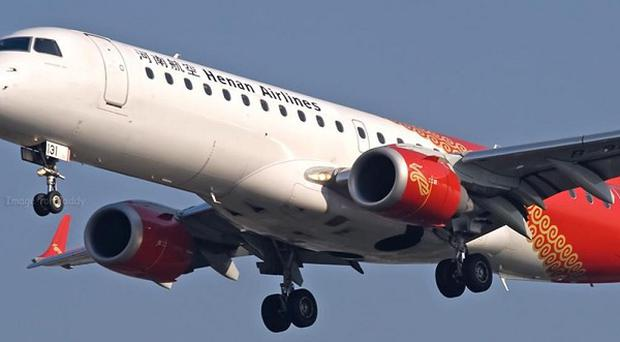 At least 42 people have died when a passenger jet overshot a runway in north-east China and burst into flames