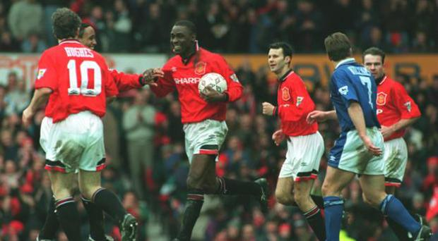 <b>Manchester United 9 Ipswich 0 - March 1995 </b><br/> Manchester United's win over Ipswich remains the biggest ever Premier League victory. Andy Cole led the way with five goals, with Mark Hughes (2), Paul Ince and Roy Keane also netting for United against an Ipswich team who finished bottom at the end of the season.