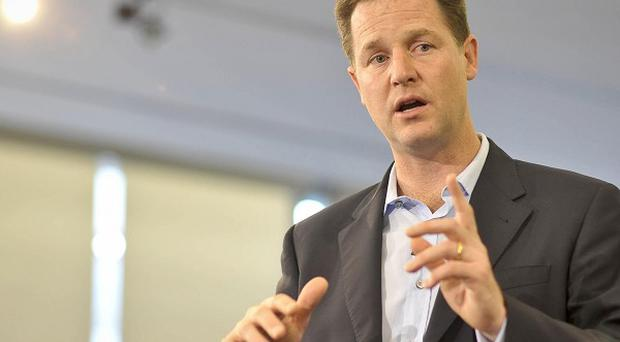 Nick Clegg has thanked the British public over their response to the Pakistan flooding appeal