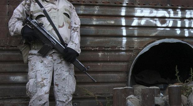 The Mexican government is waging a war against drug cartels (AP)
