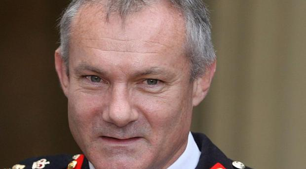 Major General Gordon Messenger played down US fears over Taliban and troop withdrawals
