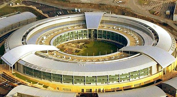 The Government Communication Headquarters (GCHQ) near Cheltenham, in Gloucestershire