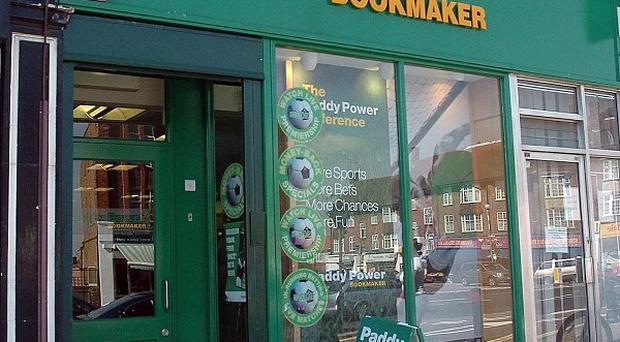 Irish bookmaker Paddy Power has reported a sharp hike in profits