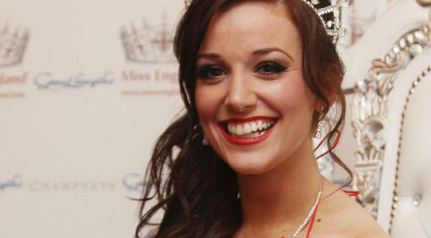 It is no longer Miss but Mrs England - Lance Corporal Katrina Hodge, who currently wears the coveted crown, has married