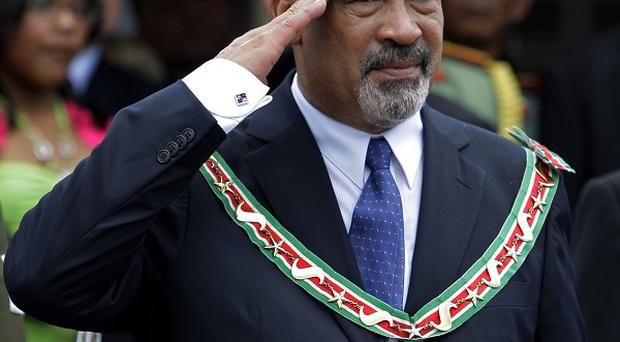 Suriname's newly elected president, former dictator Desi Bouterse, is ailing from an undisclosed illness (AP)