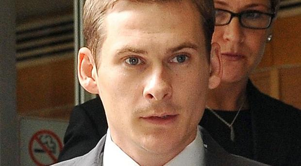 Lee Ryan of boy-band Blue leaves Westminster Magistrates Court