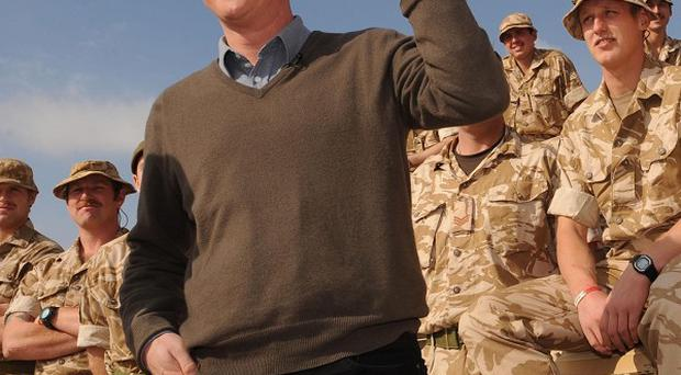 Prime Minister David Cameron was a target for Afghan insurgents during a recent visit