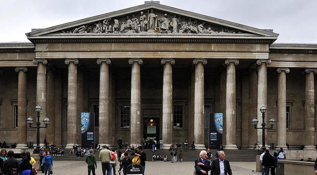 The British Museum was evacuated after visitors complained of suffering from sore throats
