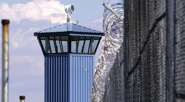 Five inmates at Folsom State Prison have been shot by guards after a riot broke out(AP Photo)