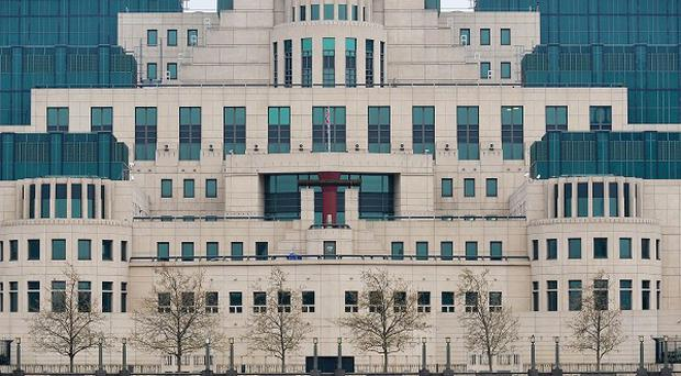 The Secret Intelligence Service building in London