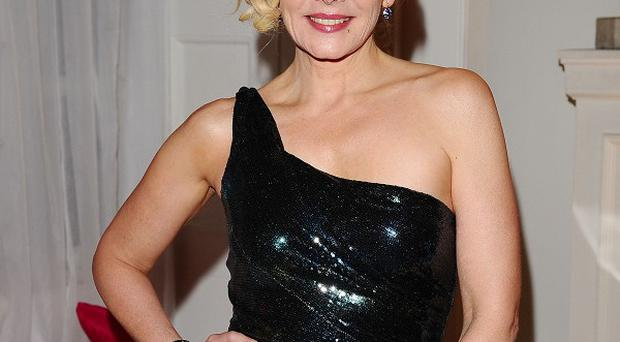 Kim Cattrall plays Samantha Jones in Sex And The City