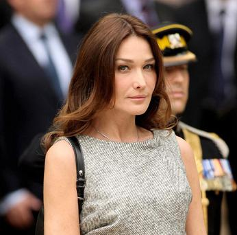 Iranian media outlets dubbed Carla Bruni a prostitute