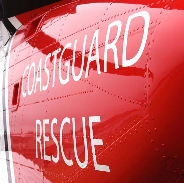 The UK Coastguard organised the rescue of a woman who had fallen in France