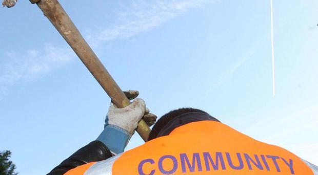 Some Community Payback supervisors are reluctant to report abuse, union warned