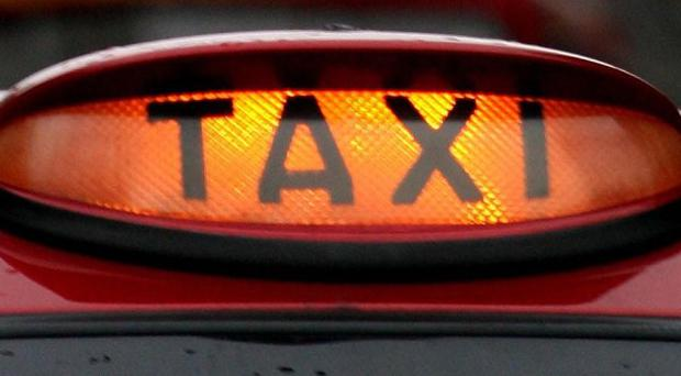 A Belfast taxi driver has been attacked by a passenger
