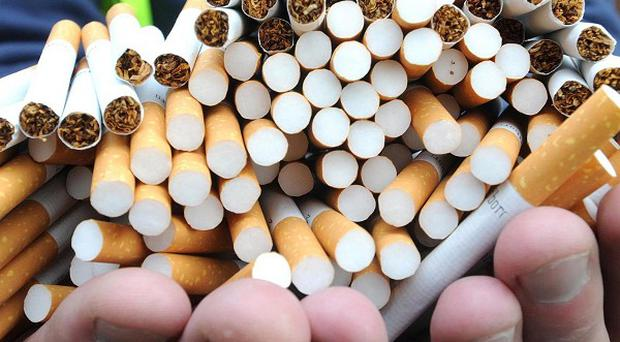 A huge haul of suspected contraband cigarettes has been seized