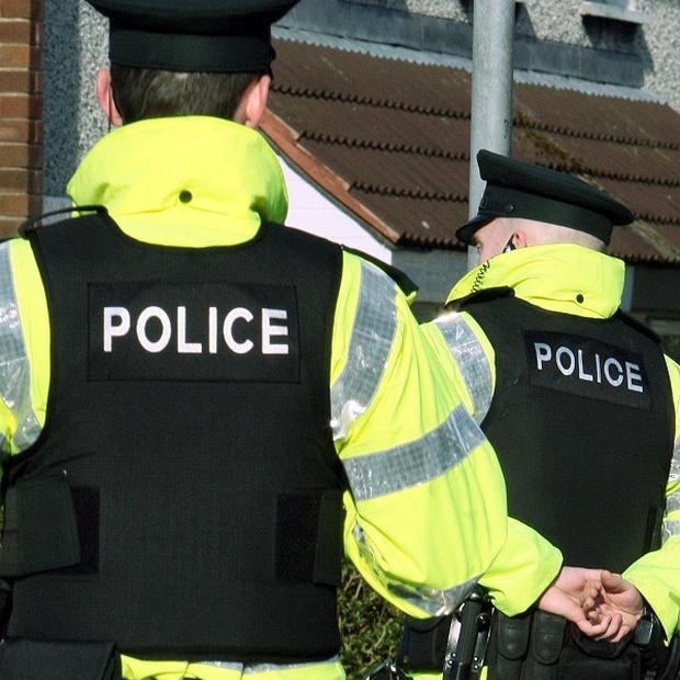 Nineteen people have been arrested after police were attacked with stones and bottles on the north Antrim coast