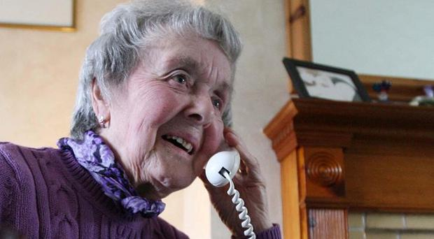 The Alone charity for older people has said it has had 150% more calls from people requesting help