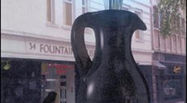 The jug planned for Belfast's Fountain Street