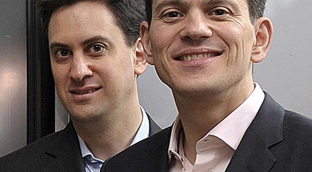Channel 4 will broadcast a docu-drama about the rise to political power of Ed, left, and David Miliband