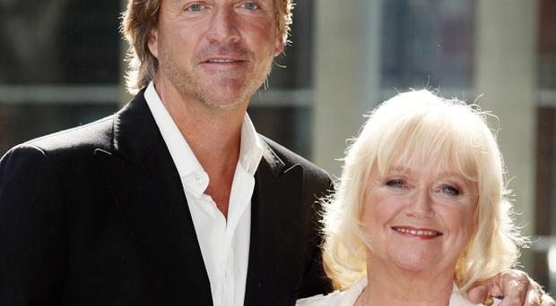Richard Madeley, with wife Judy Finnigan, after his impromptu presenting stint on This Morning