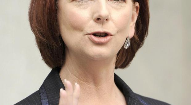 An independent MP said he would back Julia Gillard's Australian Labour Party