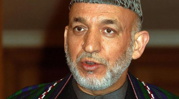 Afghan president Hamid Karzai condemned a fatal Nato airstrike