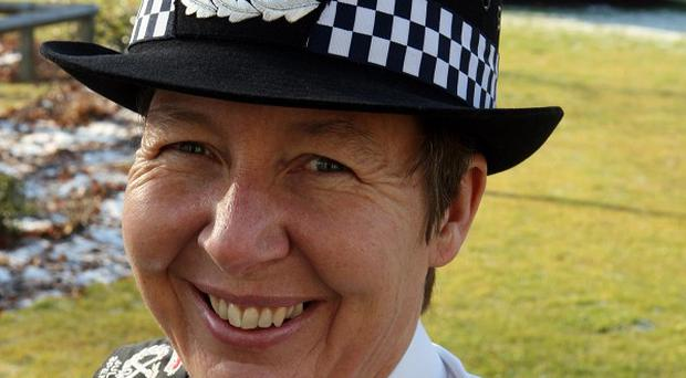 Julie Spence said police could be reduced to a '999 emergency service'