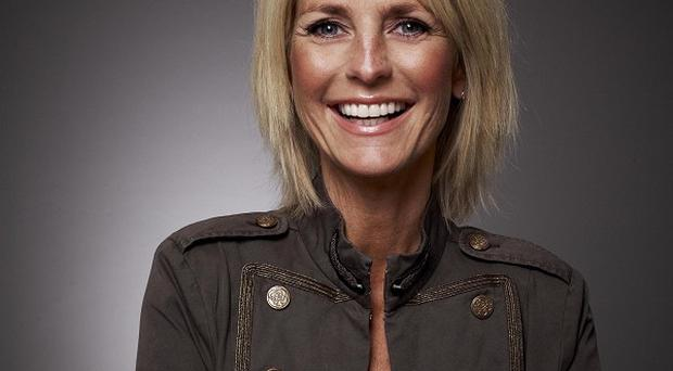Ulrika Jonsson saw a plane message from her husband